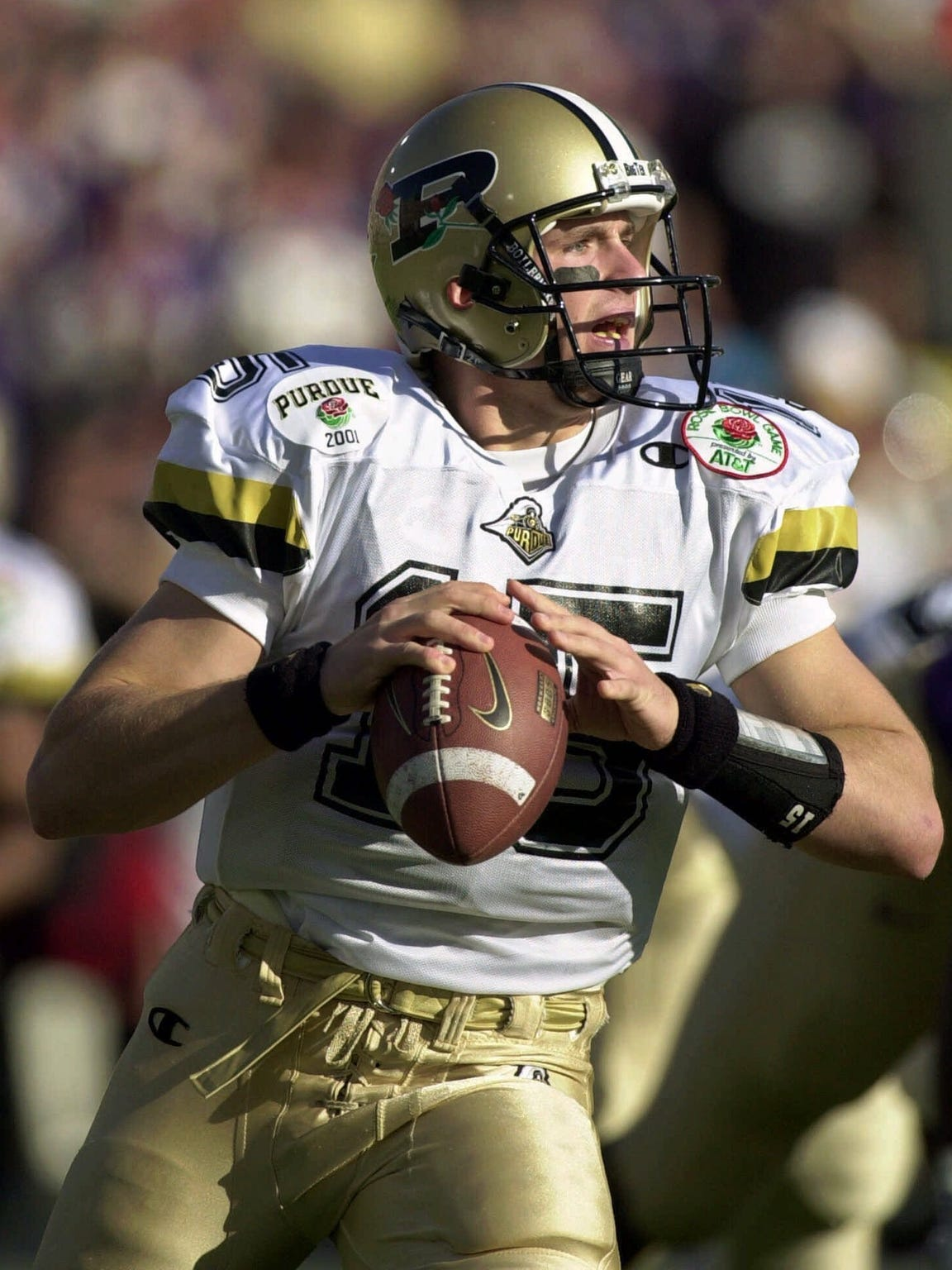 Former Purdue star Drew Brees