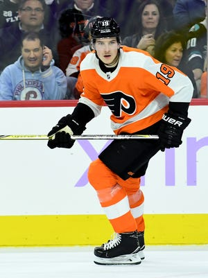 Rookie center Nolan Patrick had six points in his first 24 games before Wednesday night's game against Detroit.