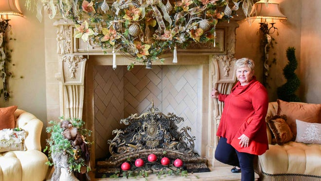 Viola Destigter is participating in the Holiday Ho Ho Home Tour on Dec. 12 in Ankeny. Tickets are $25, with proceeds benefiting the Ankeny Service Center.