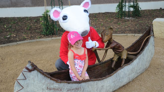 The Adamson-Spalding Storybook Garden could be a nice Easter weekend destination.