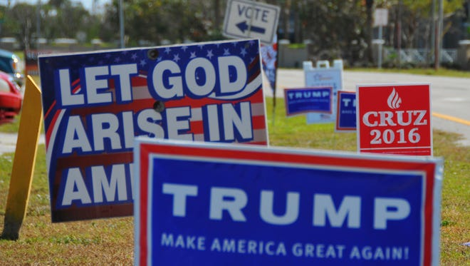 """The theft or defacing of political signs is always a sure sign the """"silly season"""" is upon us."""