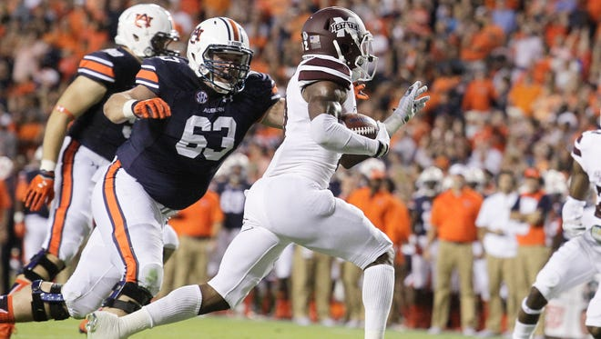 Mississippi State senior Will Redmond will miss the remainder of the season after tearing his ACL.