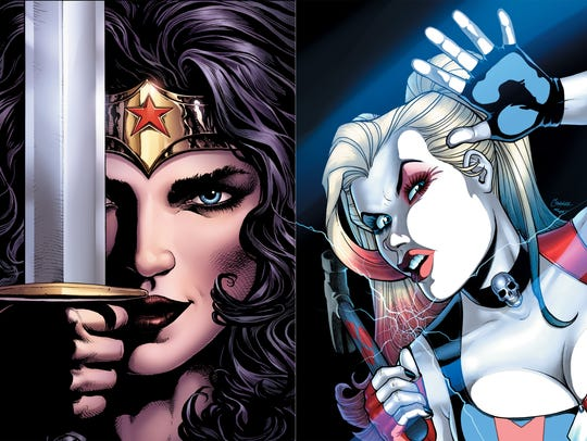 Wonder Woman and Harley Quinn both factor into movies