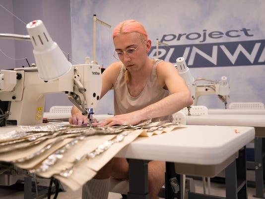 Aaron Myers on 'Project Runway'
