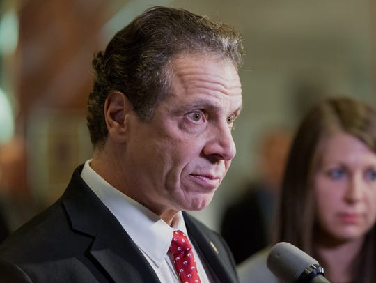 New York Gov. Andrew Cuomo pledged to fight any federal