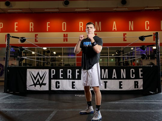Jacob Kasper, considered a top recruit of the WWE,