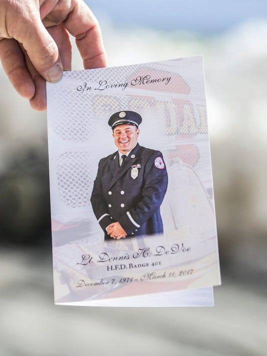 Lt. Dennis H. DeVoe Funeral Procession & Service