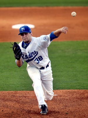 MTSU's Tyler Troutt allowed 10 hits and six earned runs in Saturday's loss to Charlotte.