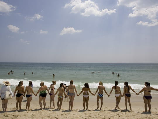 Hands Across the Sand, a national event created to