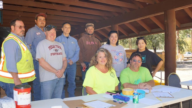 Board members of Keep Ruidoso Beautiful. First row, left to right: Melissa Haynes, David Tetreault (T-Bone), Reyna Flores; second row left to right: Gene Detrick, Todd Oberheu, Jacqueline Pride; third row left to right: Omar Lerma, Ann Margaret Arredondo and Sergio Boyle. Not available for photo: Tristan Baca.
