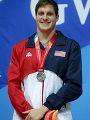 Lakeview grad Clay Youngquist helped the U.S. 800 relay