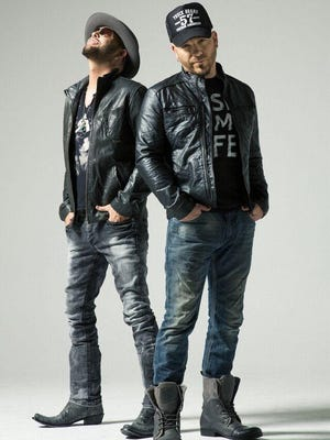 LoCash will perform at the Pickerington Violet Festival on Friday. Members are Preston Brust, left, and Chris Lucas.