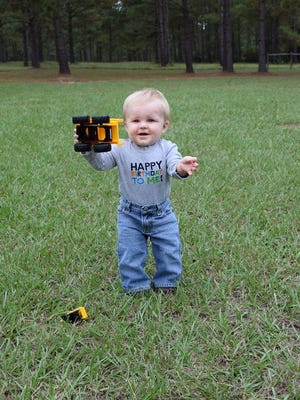Luke Darren Knight, Oct. 30, 2014. Son of Bradlee and Chelsea Knight, Whigham, Ga.