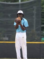 Rickards' Ferante Cowart pitches for American Legion Post 13 this summer.
