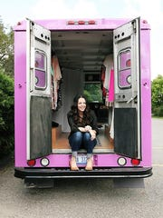 Nikki Mattison has a brick-and-mortar store, an online business along with her fashion truck.