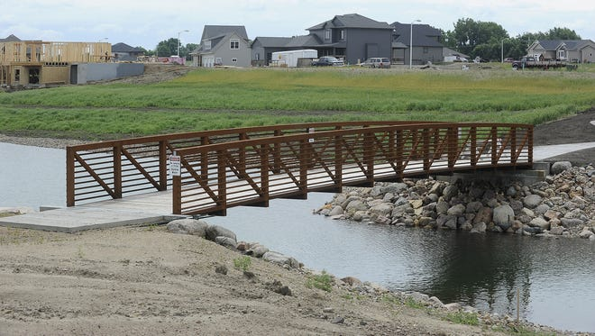 Cherry Lake Reserve development in Sioux Falls, S.D., Monday, June 23, 2014.
