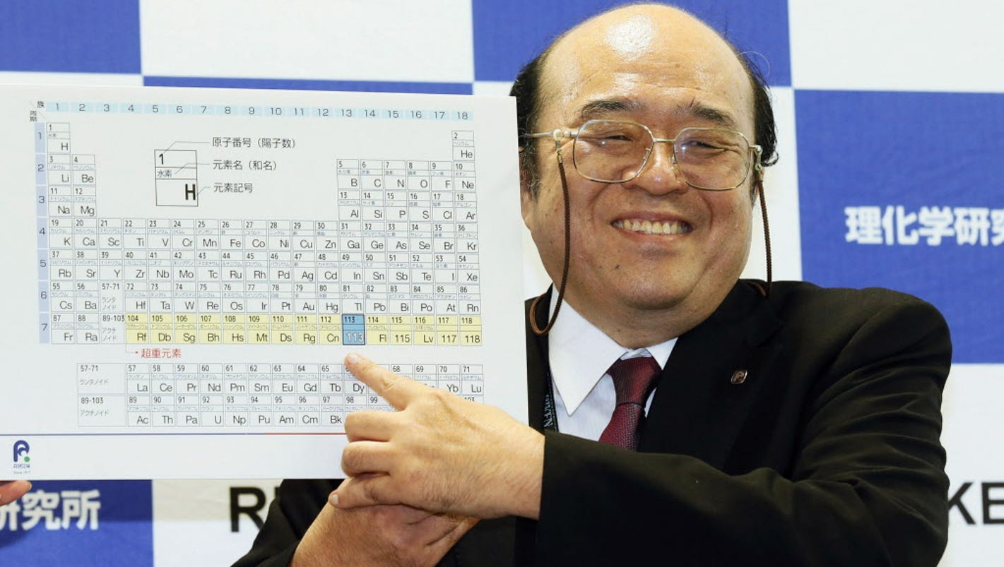 Four new elements officially added to periodic table gamestrikefo Images