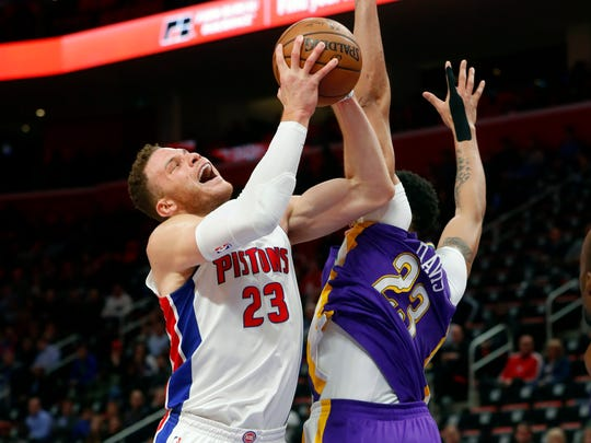 Blake Griffin is shooting 15-for-51 (29.4 percent) from 3-point range in eight games with the Pistons.