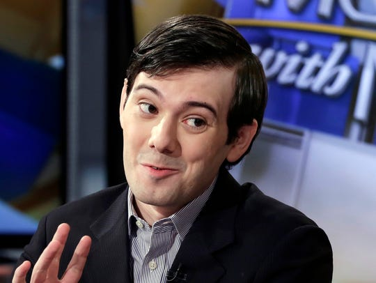 Former Turing Pharmaceuticals CEO Martin Shkreli is
