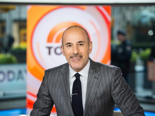 AP SEXUAL MISCONDUCT LAUER A ENT USA NY