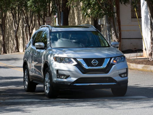 The 2017 Nissan Rogue