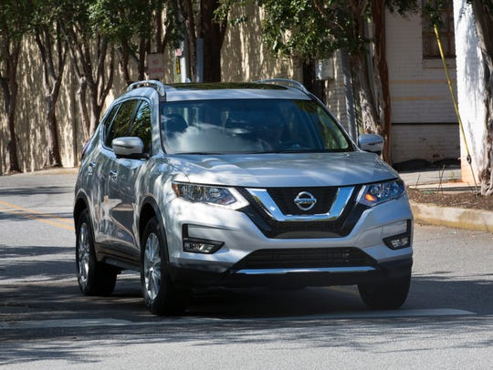 The 2017 Nissan Rogue.