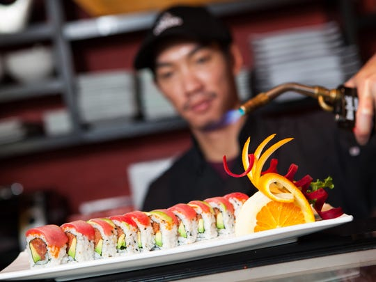 Joe Sunthi, formerly a sushi chef at Komoon Sushi Thai & Ceviche, is co-owner of Mojo Thai & Sushi Bar Restaurant, targeted to open in mid-October at the Galleria Shoppes at Vanderbilt in North Naples.