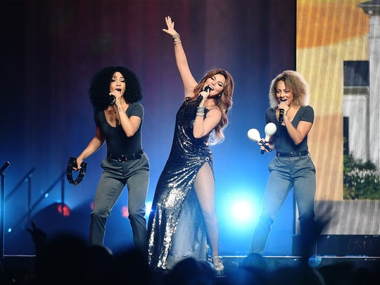 Shania Twain performs at Barclays Center of Brooklyn