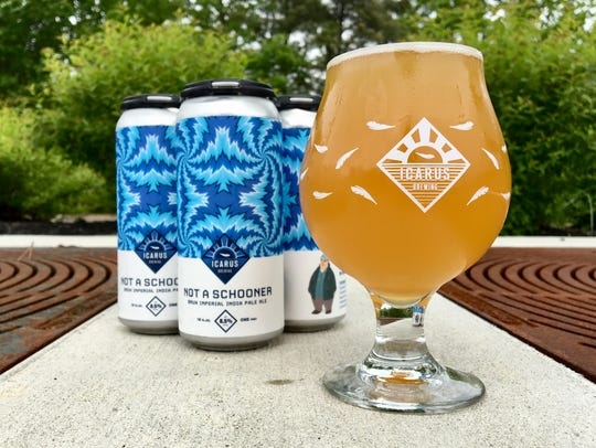 Not a Schooner, a North East IPA from Icarus Brewing
