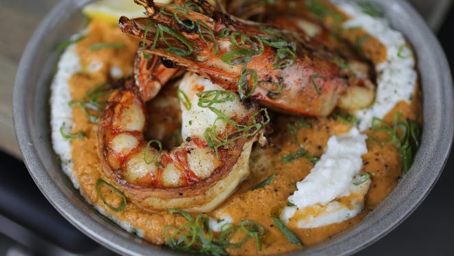 The Shrimp and Grits at Southern Table Kitchen & Bar in Pleasantville, photographed April 25, 2018.