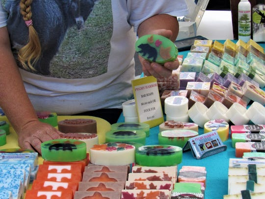 Pygmy Harbor Farms all natural goat milk products are