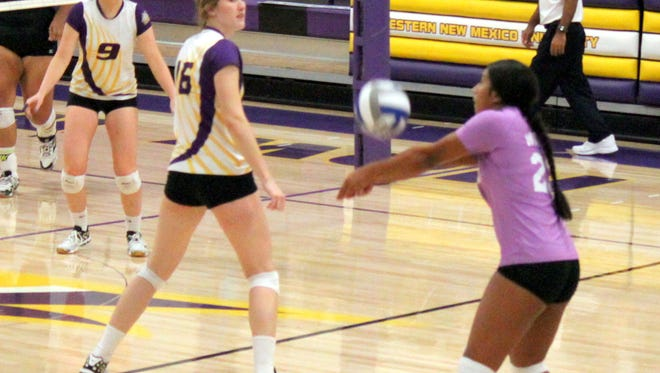 The WNMU volleyball team will start a four-game home stand beginning Friday night.