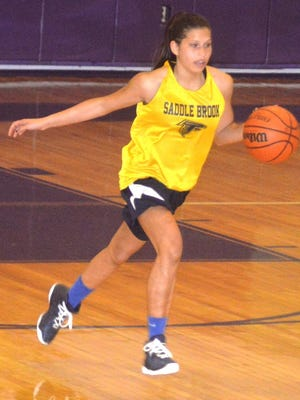 Saddle Brook senior guard Asia Rivera is the top player coming back for the Lady Falcons.