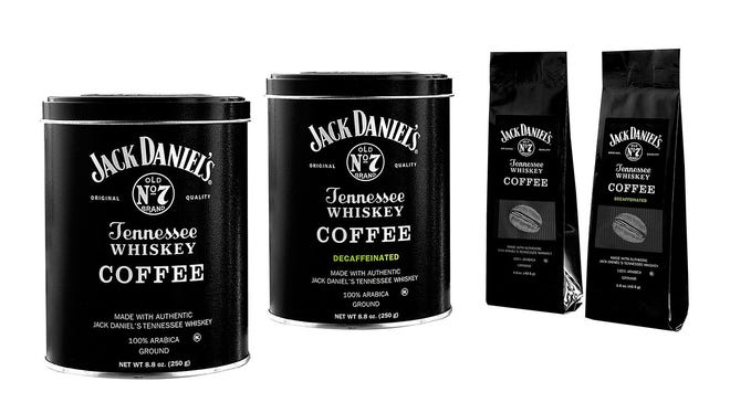 Jack Daniel's launches an new whiskey-flavored coffee.