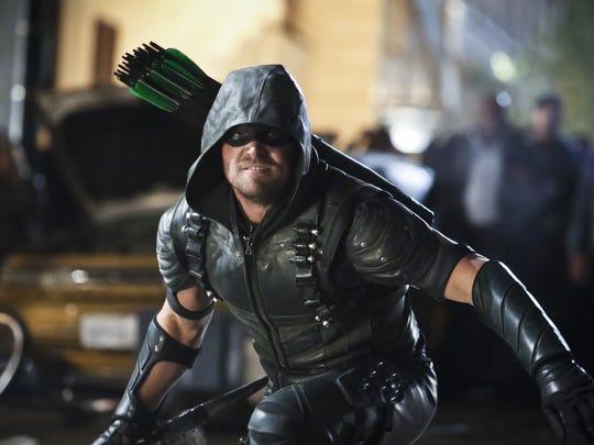 Stephen Amell stars as Green Arrow on CW's 'Arrow.'