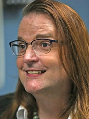 Laura Beth Buchleiter talked about her gender reassignment