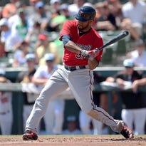 The Minnesota Twins announced Tuesday that outfielder Aaron Hicks has been recalled from Triple-A Rochester to replace Shane Robinson, who was placed on Major League Baseball's Family Emergency List.