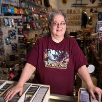 Tawna Lewis, owner of Fat Cats Comics in Johnson City.