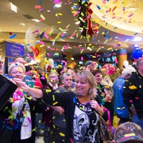 Crowds rush to take in a new Tioga Downs experience