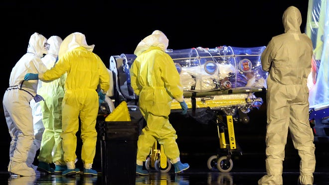 David Sanders, an associate professor of biological sciences at Purdue University, said that to discount the Ebola virus' potential to become airborne is dangerous.