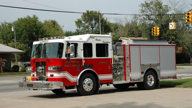 Eastpointe Fire Department truck