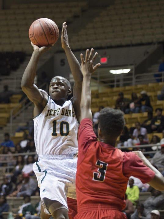 Boy's Regional Basketball: Jeff Davis vs. Central-Phenix City