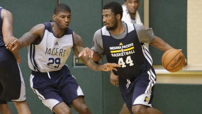 Fans might enjoy seeing young players like Solomon Hill (44) grow with playing time this season.
