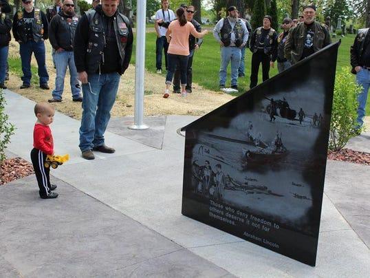 American Legion Memorial Dedication