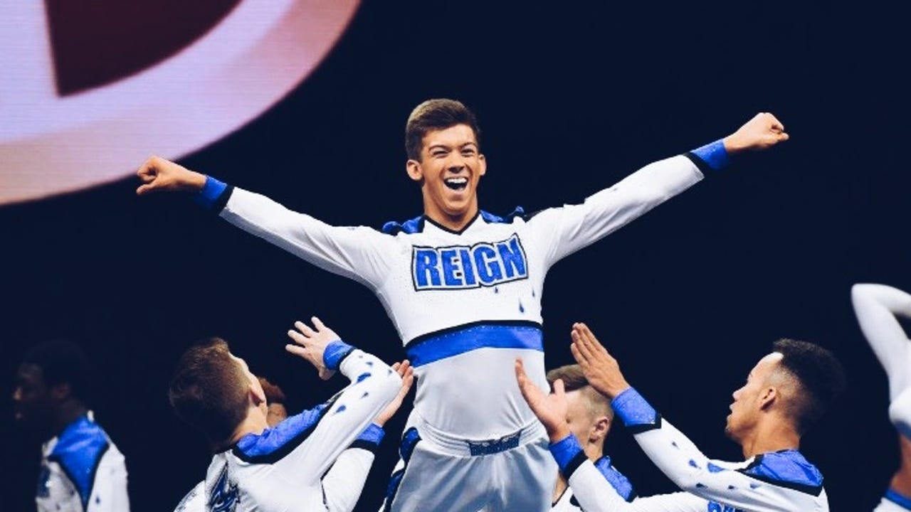 Spring Grove junior Blake Forry is a competitive cheerleader for one of the nation's top club teams in Maryland.