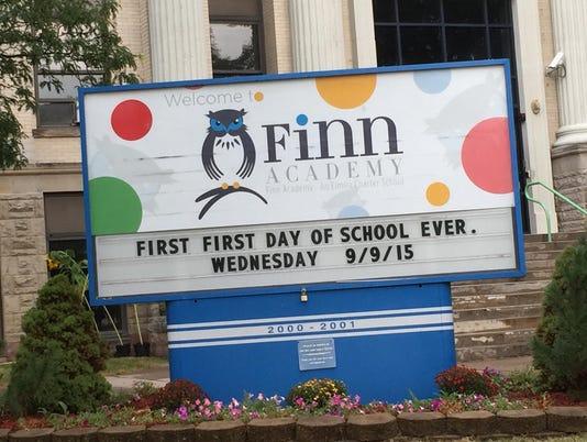 Finn first day sign