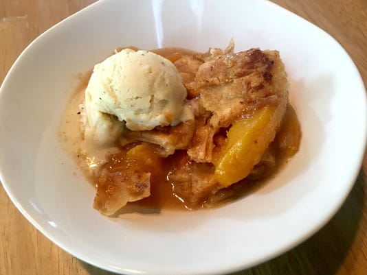 Here's how to make Aretha Franklin's Peach Cobbler