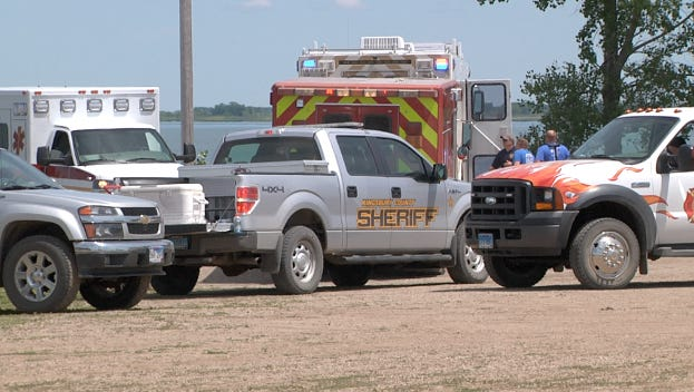 The pilot of a small plane died after it crashed into Lake Thompson on Tuesday.