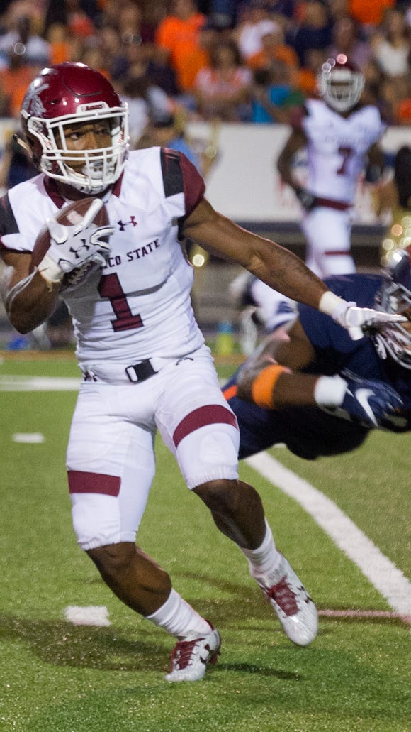 Aggies receiver Royce Caldwell will have opportunities