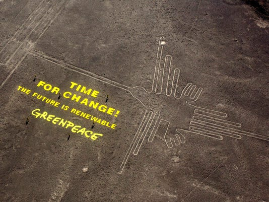 AP PERU CLIMATE CHANGE CONFERENCE I PER